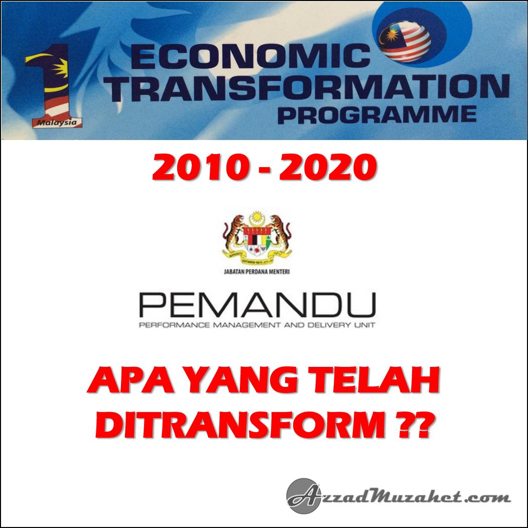 Tn50 Pengenalan Apa Itu Transformasi Nasional 2050