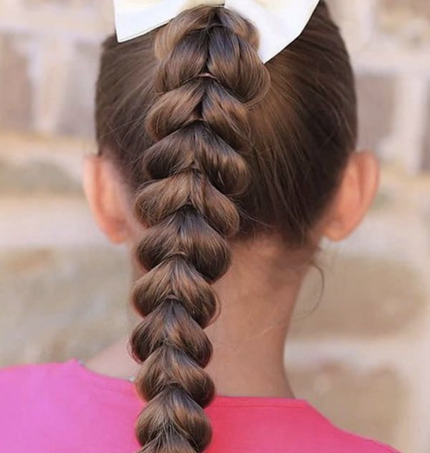 cute little girl braid hairstyles 2019