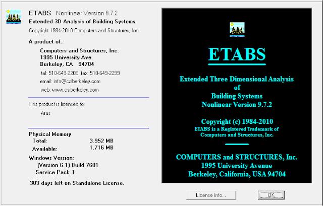 ETABS 9.7.2
