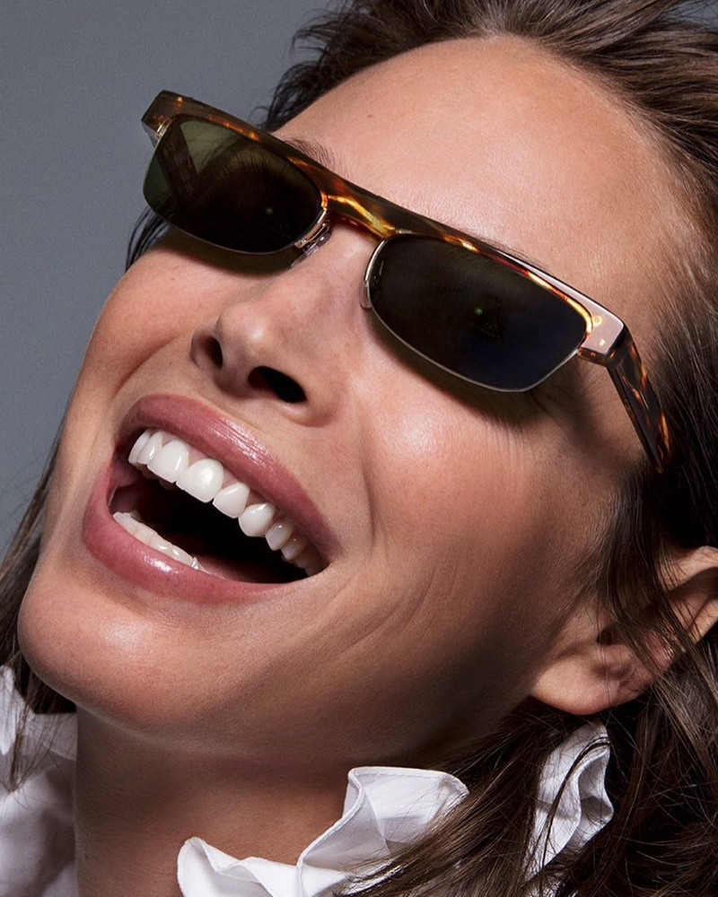 Christy Turlington stars in Alain Mikli x Alexandre Vauthier spring-summer 2019 sunglasses campaign