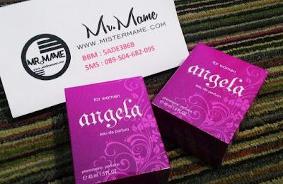 Ready Stock Parfum Angela for Women by Identic Pheromone