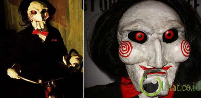 Boneka Jigsaw di Film Saw