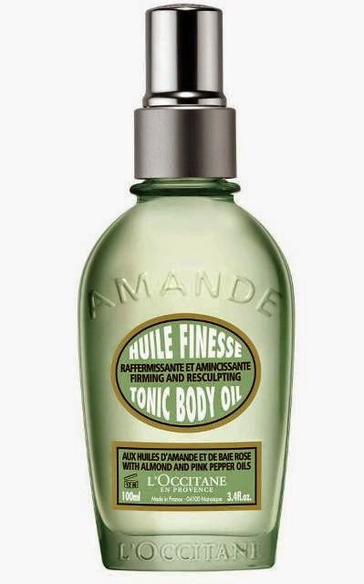 L'OCCITANE Almond Tonic Body Oil, Review: L'OCCITANE Almond Body Care, Redefine Your Curves, L'OCCITANE Almond Body Care, L'OCCITANE, firming, slimming, body care, almond collection,