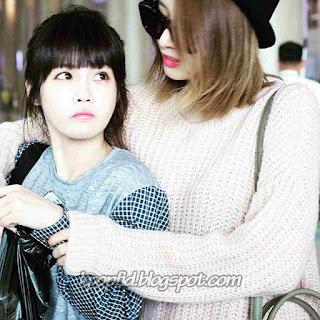 Foto Jeon Boram T-ara dengan Jiyeon T-ara