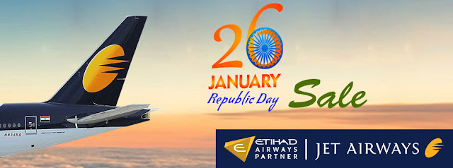 JetAirways 26Jan Sale...Domestic airline sale, international airline sale