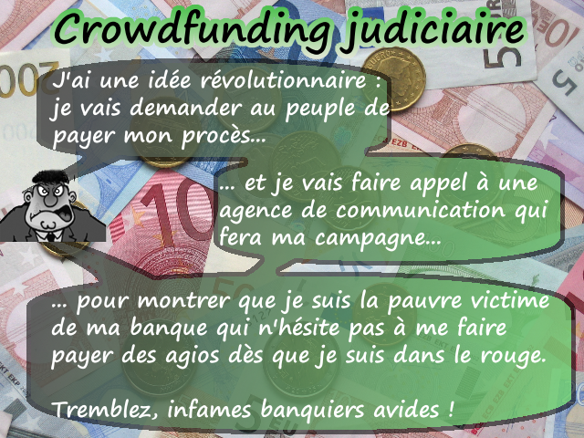 Le crowdfunding judiciaire