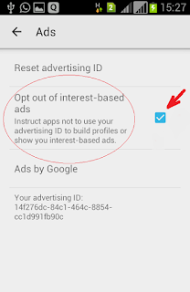 How to opt out of ads on apple and android mobiles
