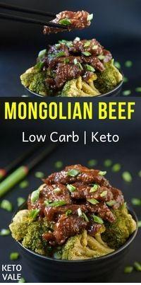 Keto Mongolian Beef