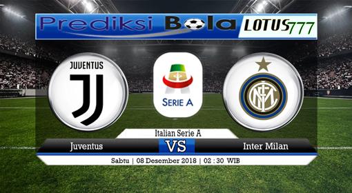 PREDIKSI SKOR Juventus vs Inter Milan 08 DESEMBER 2018