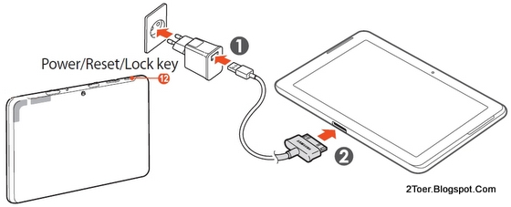 2Toer: Samsung Galaxy Tab 2 10.1 GT P5100 Factory Reset