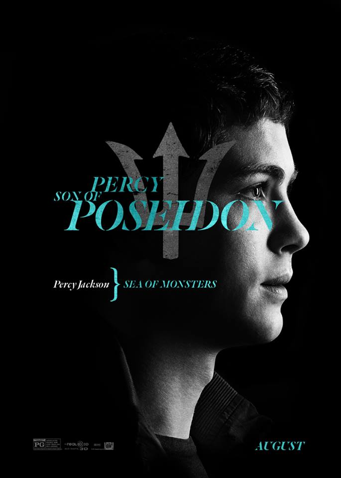 Percy Jackson: Sea of Monsters Character Poster