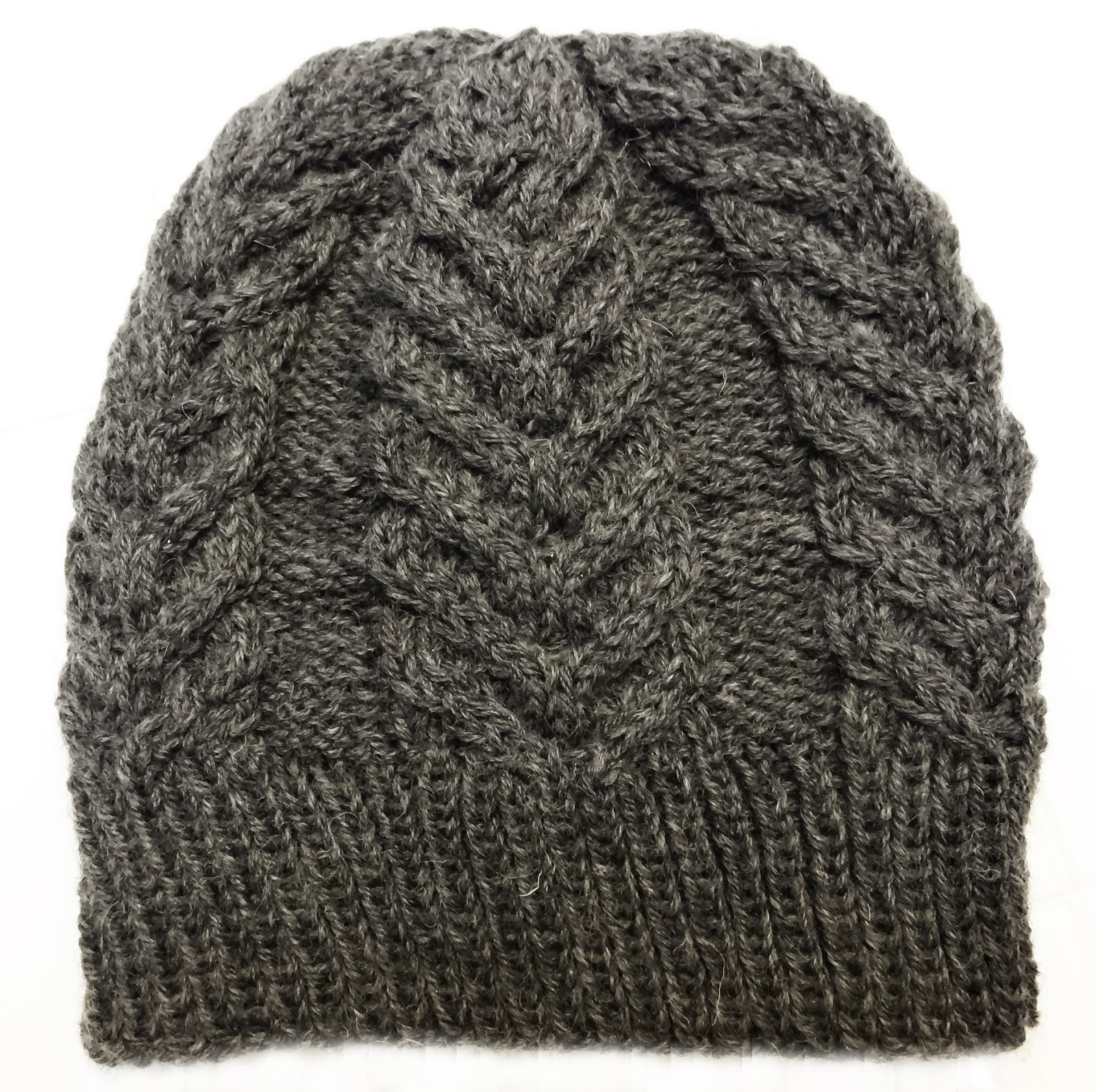 ...Knitting Up A Storm: FO: Antler Hat (Toque) #2
