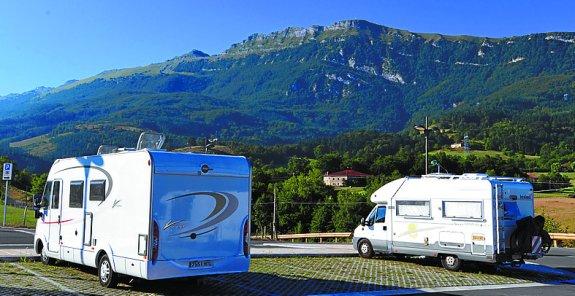 ADAC, el área de autocaravanas de Oñati (barrio de San Martín), País Vasco, entre las más reconocidas de Europa