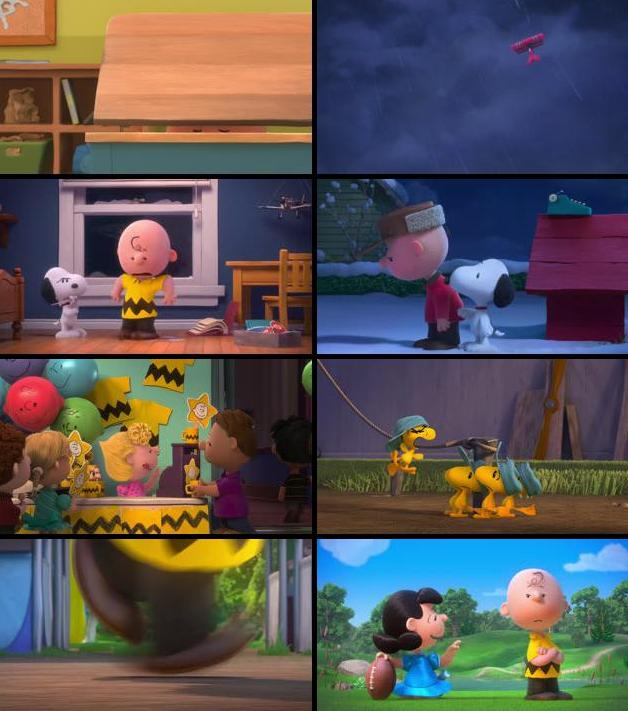 The Peanuts Movie 2015 English 720p WEB-DL
