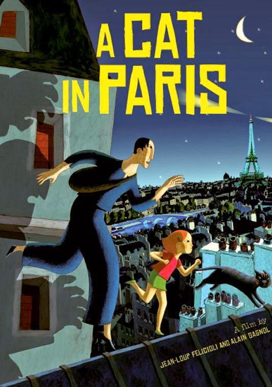 A Cat In Paris เหมียวหม่าว สาวสืบ [HD]
