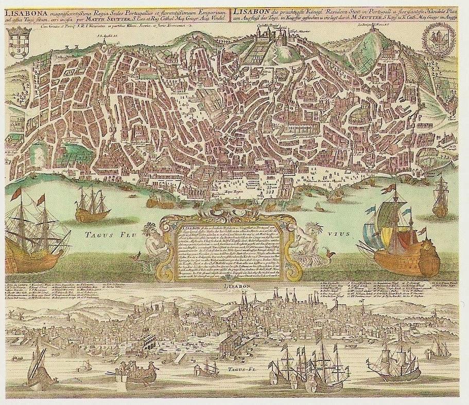 mapa de lisboa antiga Ao pé da Raia: Um mapa antigo de Lisboa mapa de lisboa antiga