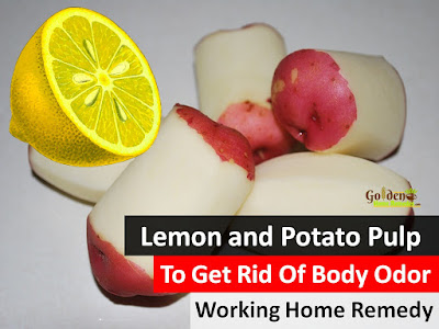 Lemon and Potato Pulp For Body Odor, Lemon For Body Odor, Lemon And Body Odor, How To Use Lemon For Body Odor, Is Lemon Good For Body Odor, How To Get Rid Of Body Odor, Home Remedies For Body Odor, Remedies For Body Odor, Body Odor Treatment,