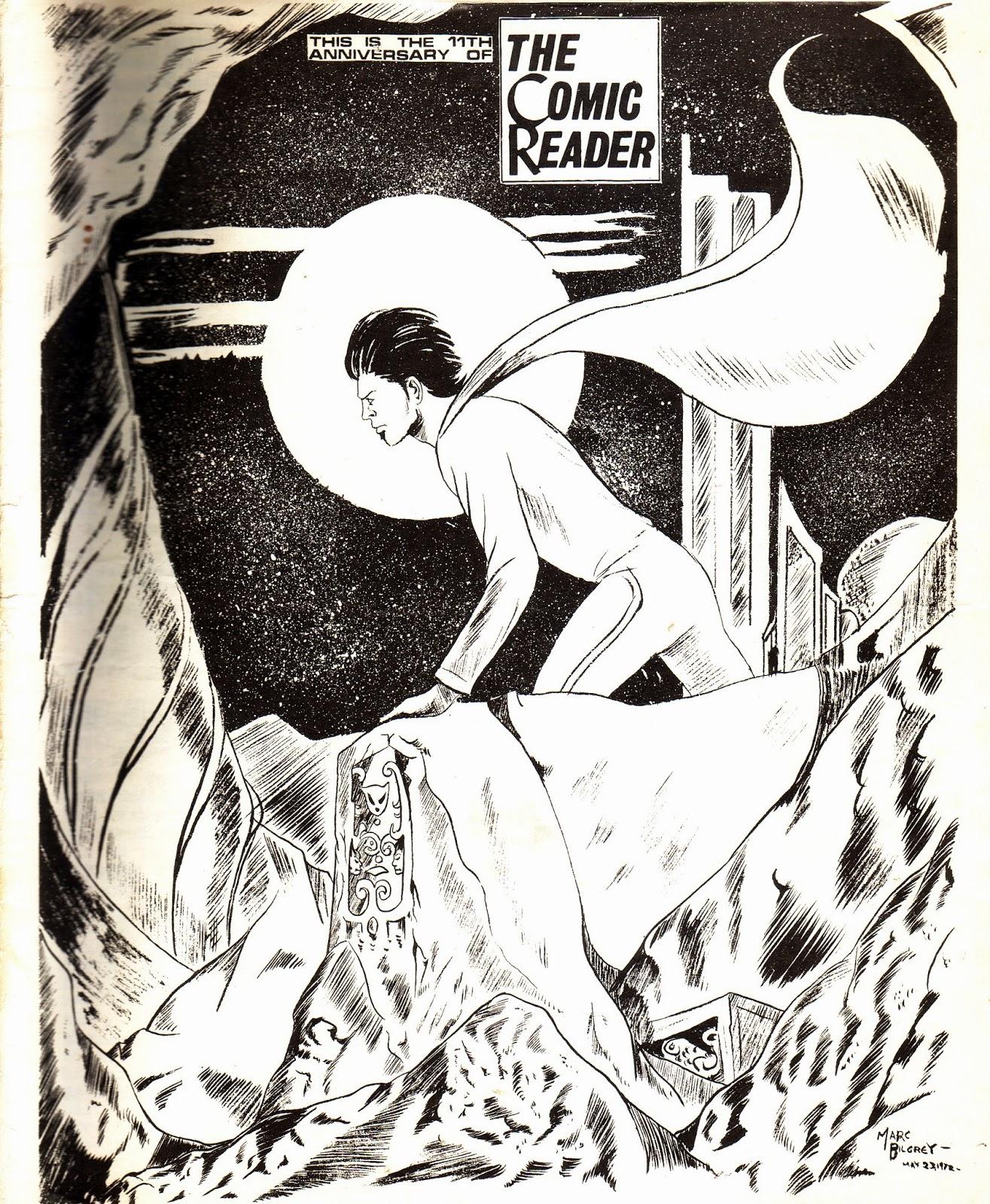 Marvel Mysteries and Comics Minutiae: The Comic Reader