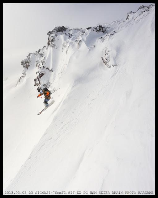 岩手山 スキー SKI ALAIN KAJITA 梶田  亜連 アレン