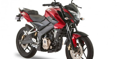 New 2017 Bajaj Pulsar NS 160 front look