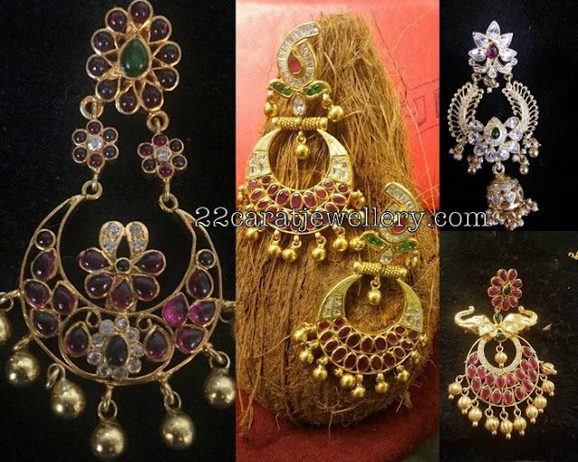 More Silver Chandbalis Collection