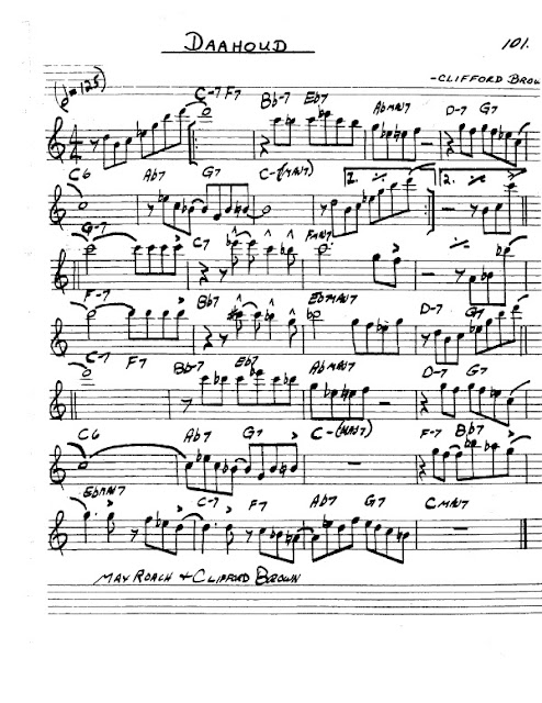 Partitura Saxofón Clifford Brown