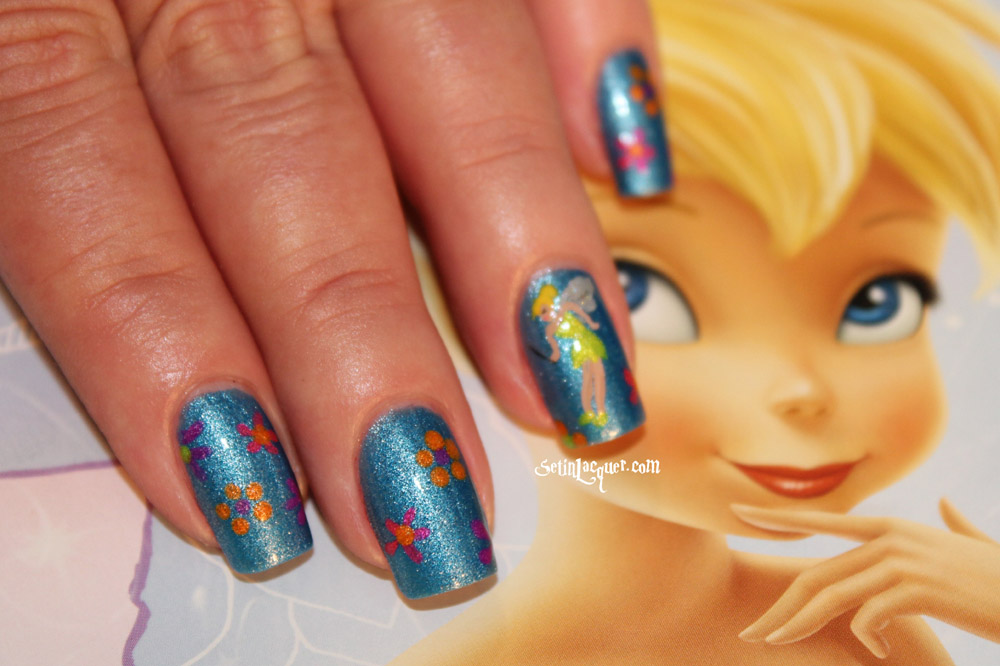 Tinkerbell Nails   www.imgkid.com - The Image Kid Has It!