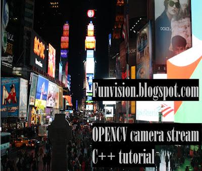 Opencv video stream rtsp mjpeg