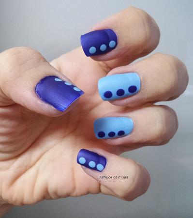 Reto Vol 5: Manicura en azul