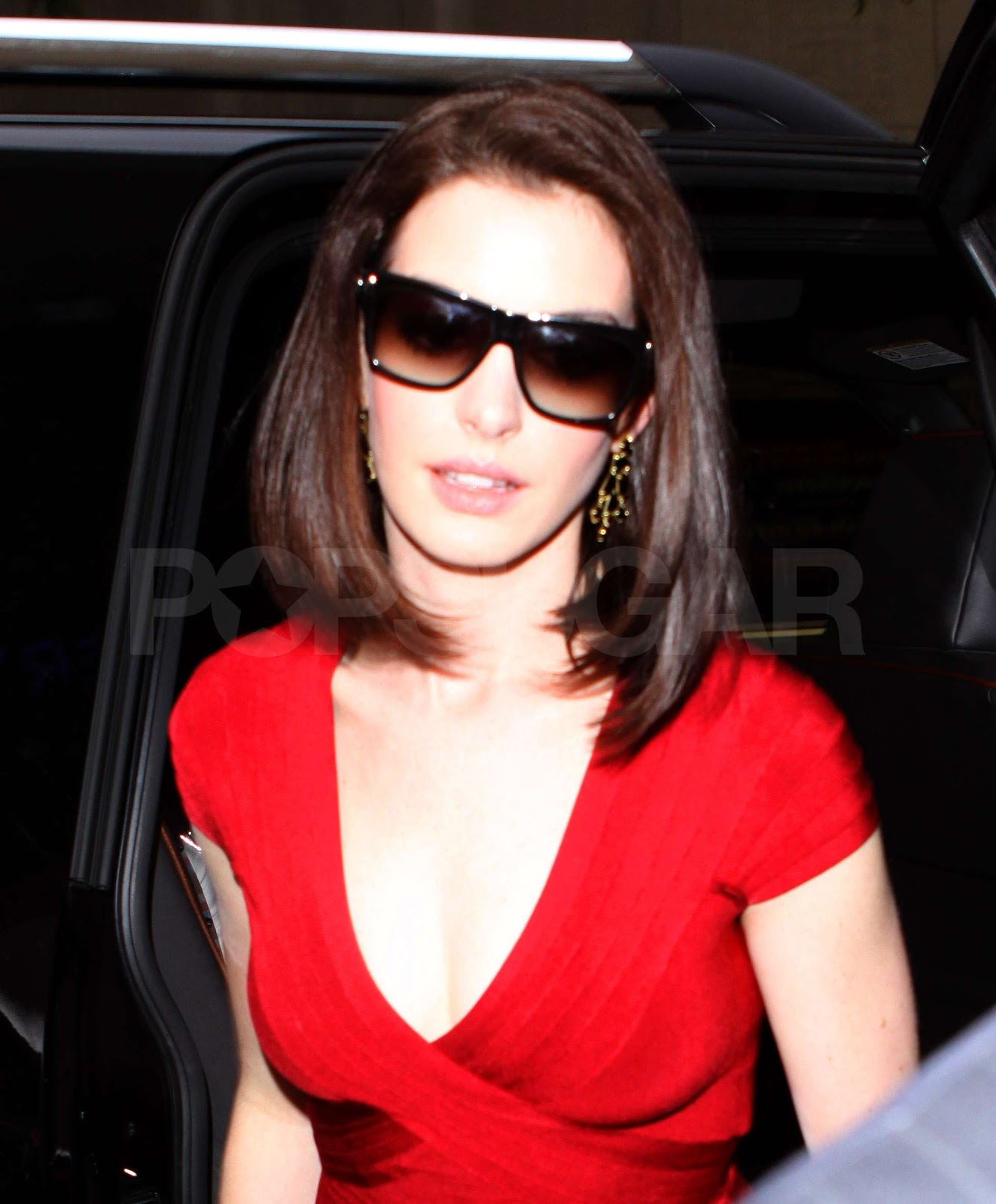 Herve Leger Sightings: Anne Hathaway Spotted In New York