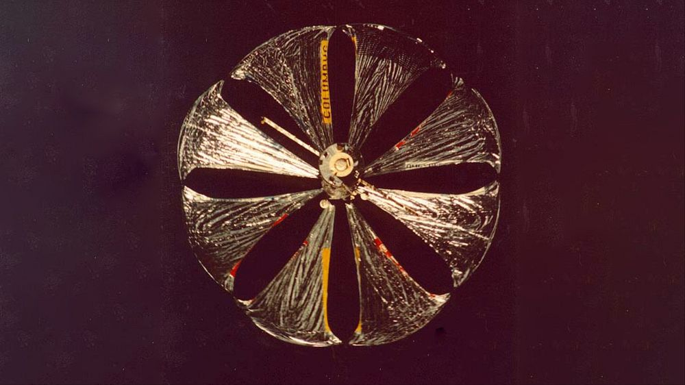 Znamya space mirror