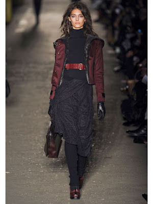 Fall 2012 trends burgundy as the new black