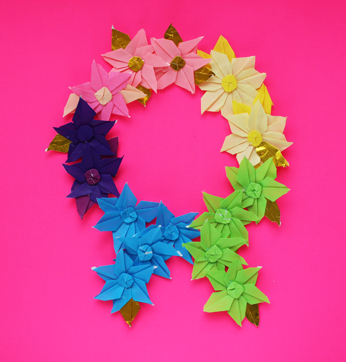 Easy Paper Flowers Poinsettia | Easy paper flowers, Christmas ... | 732x700