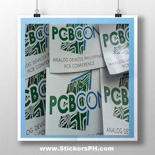 Corporate Event Stickers - Analog Devices Philippines
