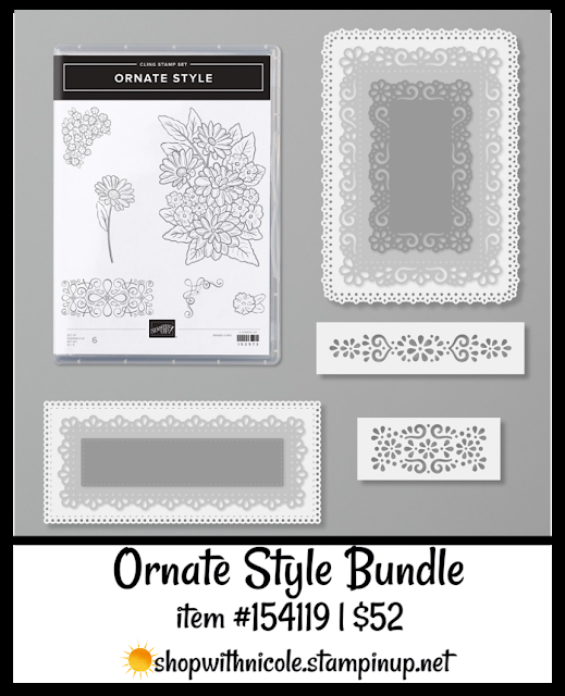 Ornate Style Bundle | item 154119 | $52 | Nicole Steele The Joyful Stamper