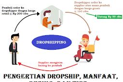 Pengertian Dropship, Manfaat, Resiko, Dan Tips Dalam Bisnis Online