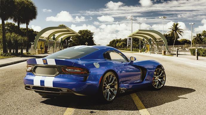 Wallpaper: Chrysler Sport Car Dodge Viper GTS