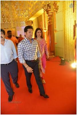 Sachin Tendulkar in wedding