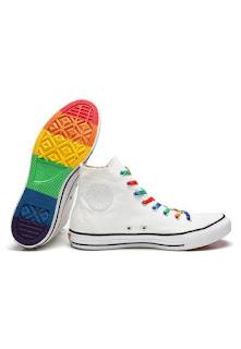 Tênis Converse All Star Pride Chuck Taylor Branco