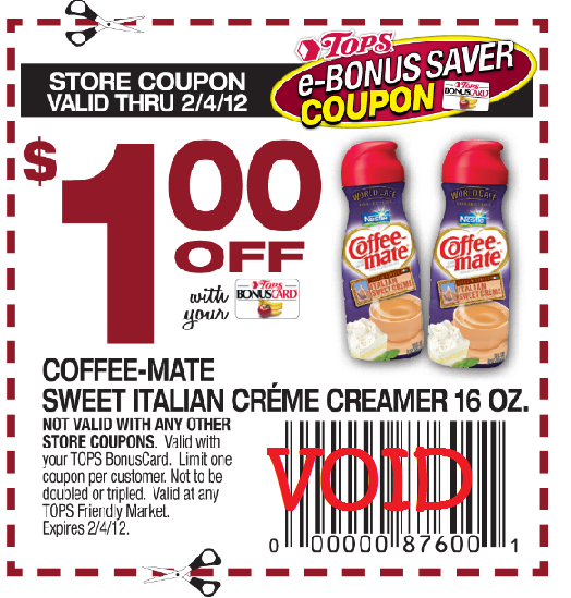 WNY Deals And To-Dos: Tops Markets: How To Coupon Stack