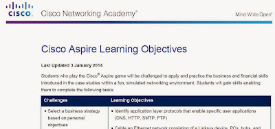 Cisco Aspire Learning Objectives