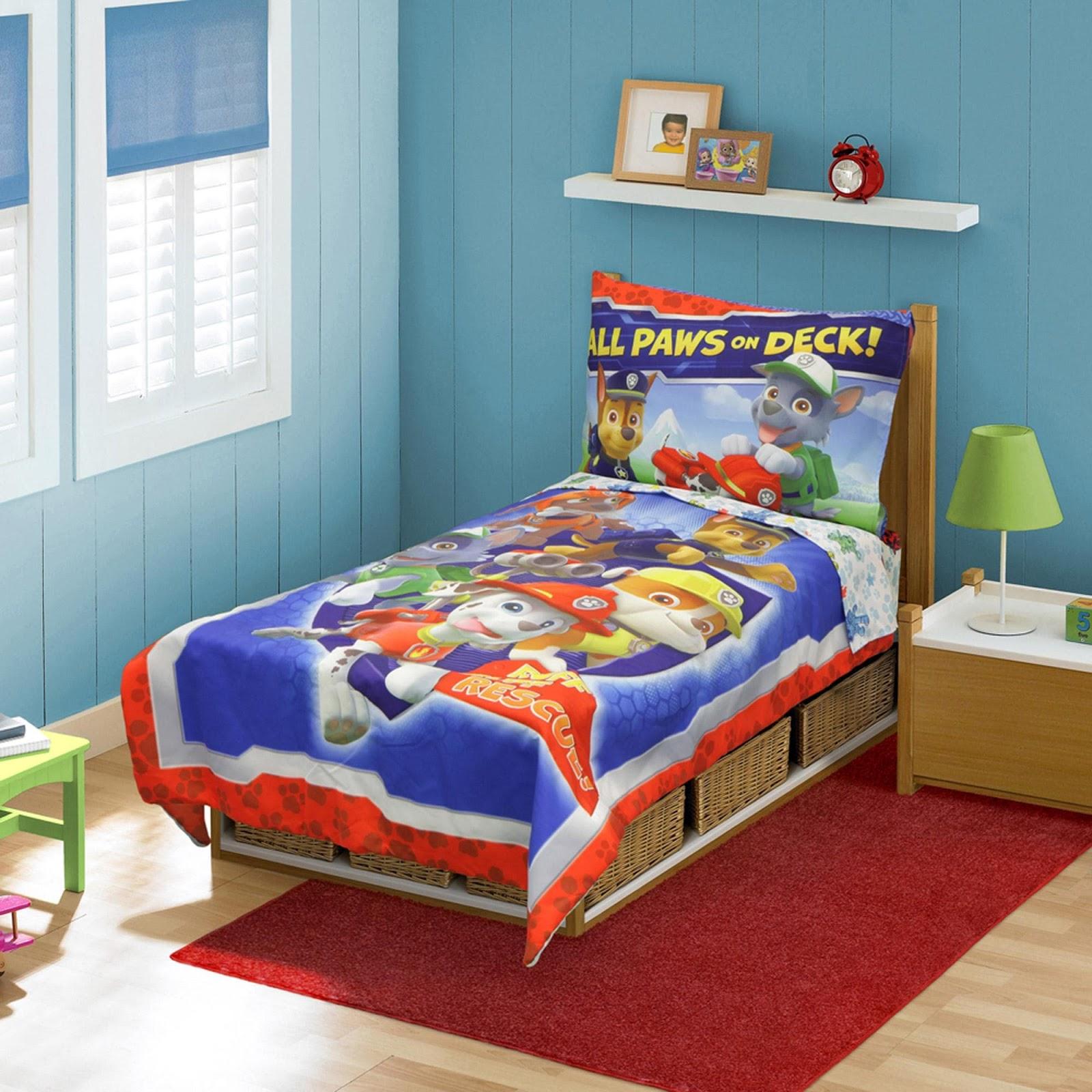 desain kamar tidur anak laki-laki ukuran kecil | desain rumah