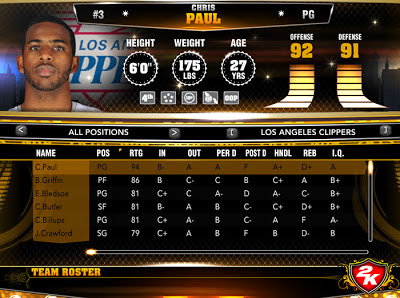 NBA 2K13 Download PC Roster Update Feb. 12, 2013