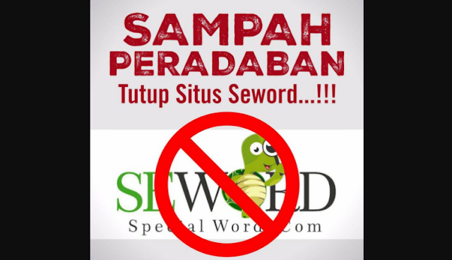 Pemuda Muhammadiyah: Situs Seword SAMPAH PERADABAN! Harus Ditutup!