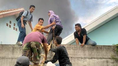 Pabrik petasan di Tangerang meledak, 47 orang karyawan tewas
