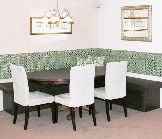 Dining Room Booth: Booth Kitchen Pic: Booth Dining Room