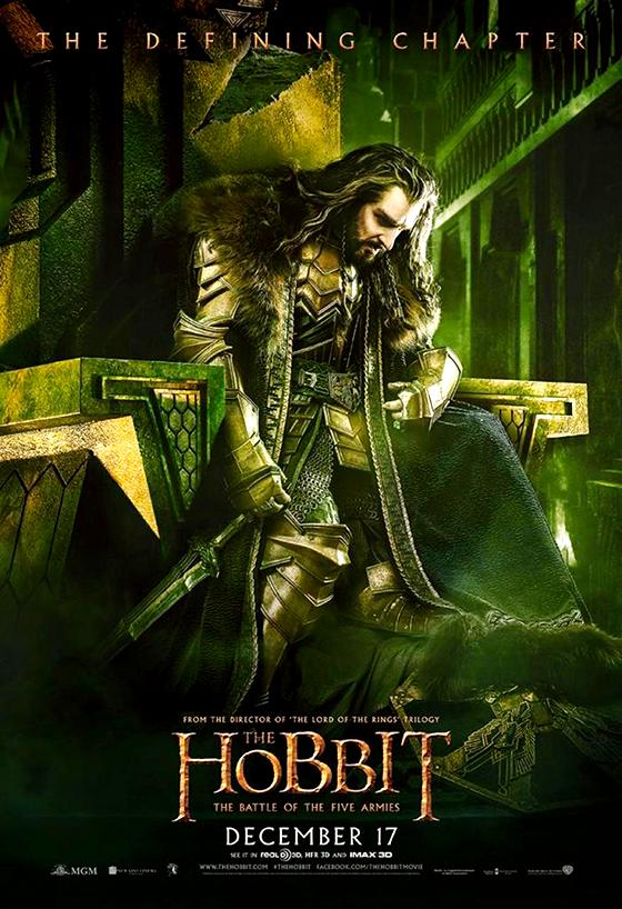 Hobbitul: Bătălia de la Cinci Armate - Thorin