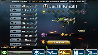 Knight Series!! Senjata Paling Dicari Di Game Crisis Action.