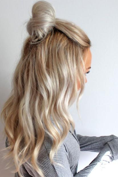 5 penteados para voc ficar