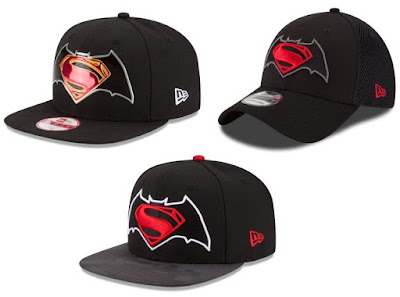 Batman v Superman: Dawn of Justice Hat Collection by New Era x DC Comics